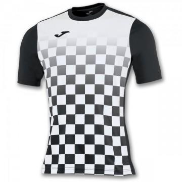 T-SHIRT FLAG BLACK-WHITE S/S