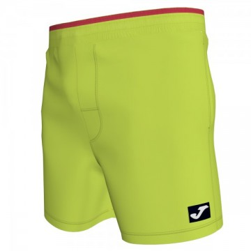 SWIMSUIT LIME-RED