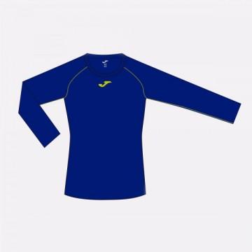 ALMANZOR T-SHIRT BLUE-LIME L/S