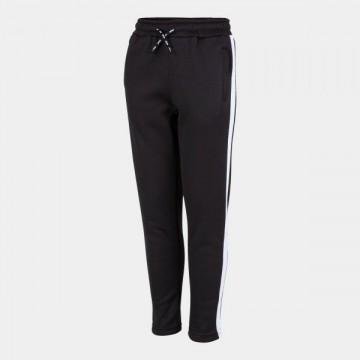 STRIPE LONG PANTS BLACK WHITE
